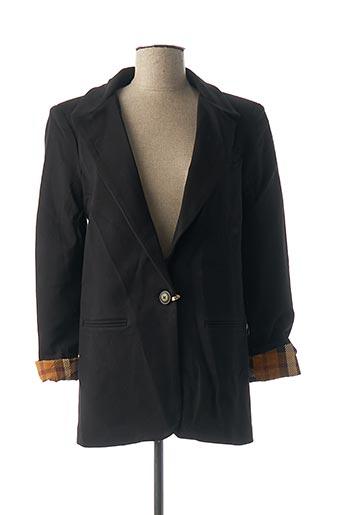 Veste chic / Blazer noir DENIM &DRESS pour femme