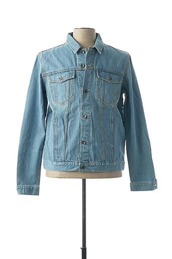 Veste en jean bleu COUTURIST pour homme
