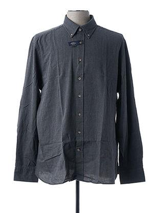 Chemise manches longues gris HACKETT pour homme