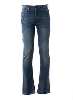 Jeans coupe slim bleu HUGO BOSS pour homme