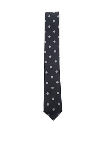 Cravate noir HUGO BOSS pour homme