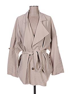 Veste casual beige YAYA pour femme