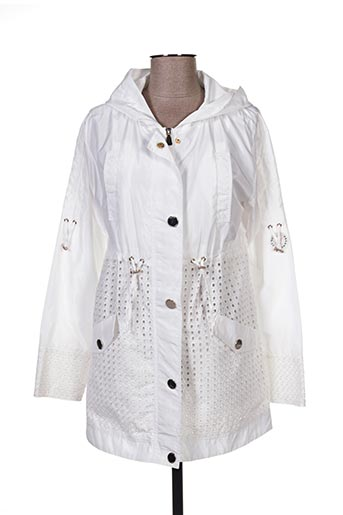 Imperméable/Trench blanc ANANKE pour femme