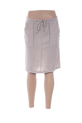 Jupe mi-longue beige CARLA KOPS pour femme