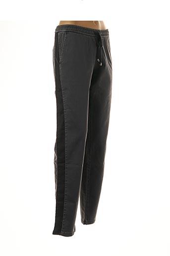Pantalon casual gris IKKS pour femme