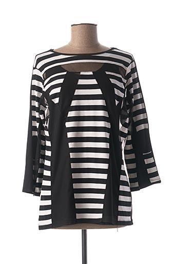 T-shirt manches longues noir MERI & ESCA pour femme