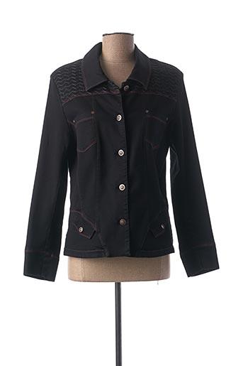 Veste casual noir CHRISTINE LAURE pour femme