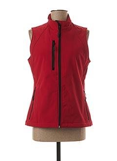 Veste casual rouge RUSSEL pour femme