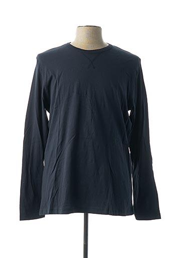 T-shirt manches longues bleu BRAVE SOUL pour homme