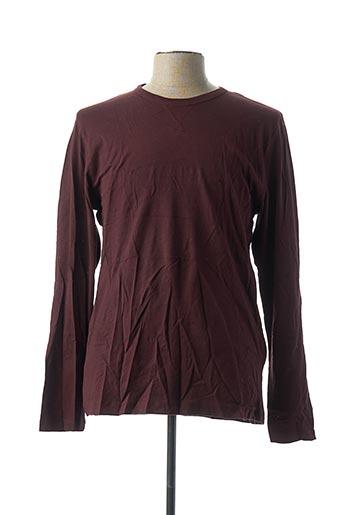 T-shirt manches longues violet BRAVE SOUL pour homme