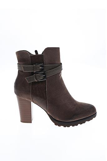 Bottines/Boots marron FOREVER FOLIE pour femme