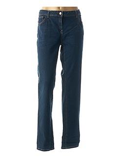 Jeans coupe slim bleu CECIL pour femme