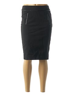 Jupe mi-longue noir TOM TAILOR pour femme