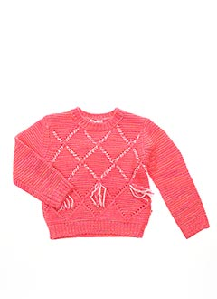 Pull col rond rose BILLIEBLUSH pour fille