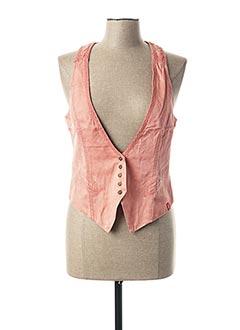 Gilet sans manche rose EDC BY ESPRIT pour femme