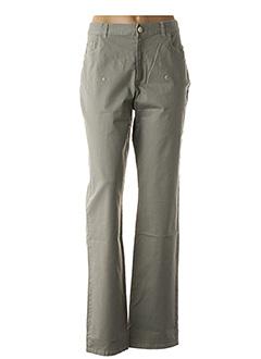 Pantalon casual gris AKELA KEY pour femme