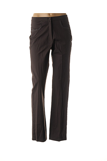 Pantalon casual marron GUITARD pour femme