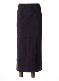 Jupe longue gris ROSA ROSAM pour femme