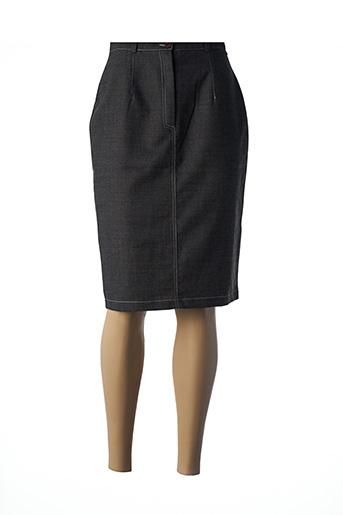 Jupe mi-longue marron GREGORY PAT pour femme