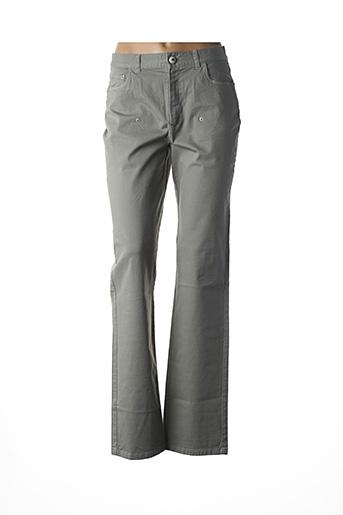 Pantalon casual vert AKELA KEY pour femme