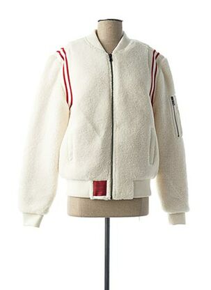 Manteau court blanc TEDDY SMITH pour fille