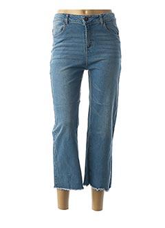 Jeans coupe droite bleu BECKARO pour fille