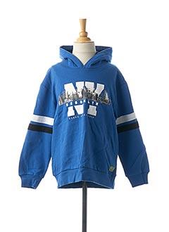 Sweat-shirt bleu BOBOLI pour garçon