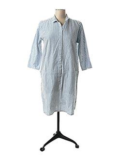 Robe courte bleu LE PETIT BAIGNEUR pour femme