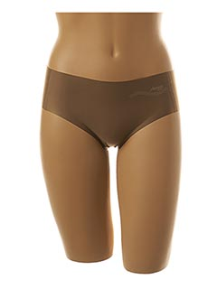 Slip/Culotte marron SLOGGI pour femme