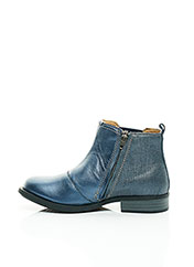 Bottines/Boots bleu NOËL pour fille seconde vue