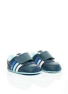 Baskets bleu ADIDAS pour fille