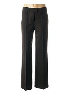 Pantalon casual noir RICHY pour femme