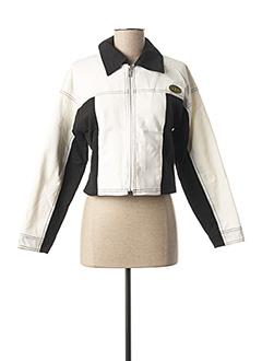 Veste casual blanc DDP pour femme