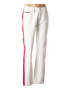 Pantalon casual blanc CALVIN KLEIN pour femme
