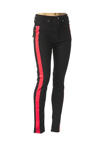 Jeans skinny noir CALVIN KLEIN pour femme