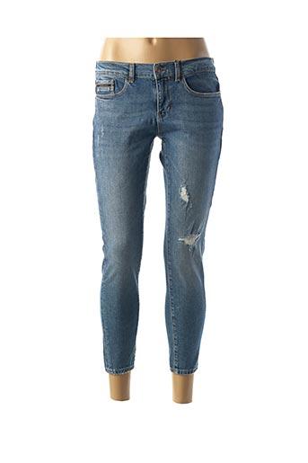 Jeans skinny bleu CALVIN KLEIN pour femme