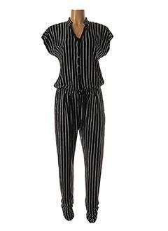 Combi-pantalon noir GEISHA pour femme