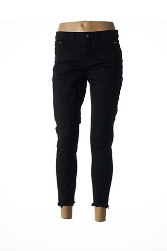 Jeans coupe slim noir CREAM pour femme