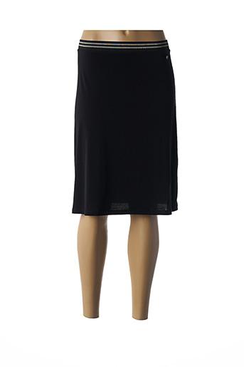 Jupe mi-longue noir CREAM pour femme