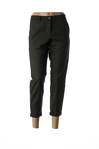 Pantalon 7/8 vert IMPERIAL pour femme