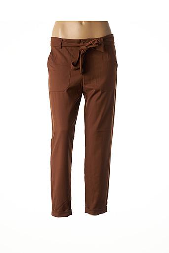 Pantalon chic marron IMPERIAL pour femme