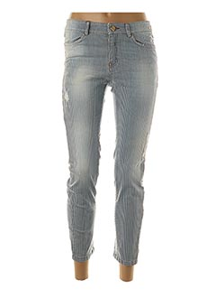 Pantalon casual bleu ANINOTO pour femme