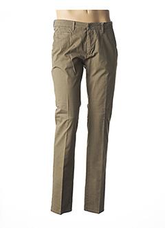 Pantalon chic vert PIONEER pour homme