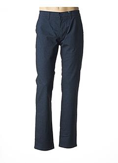 Pantalon casual bleu PIONEER pour homme