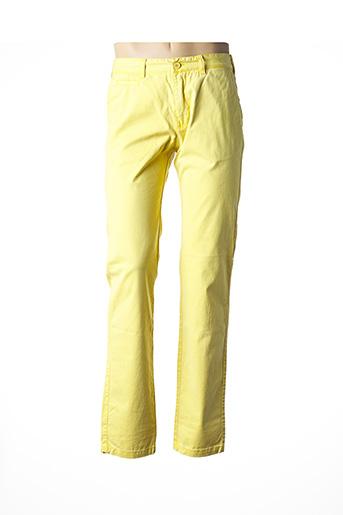 Pantalon casual jaune MEN OF ALL NATION pour homme