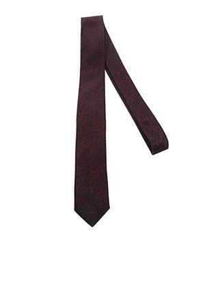 Cravate rouge CLAUDE GABRIEL pour homme