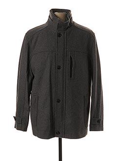Manteau court gris JUPITER pour homme