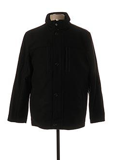 Manteau court noir JUPITER pour homme