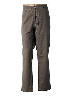 Pantalon casual beige HATTRIC pour homme
