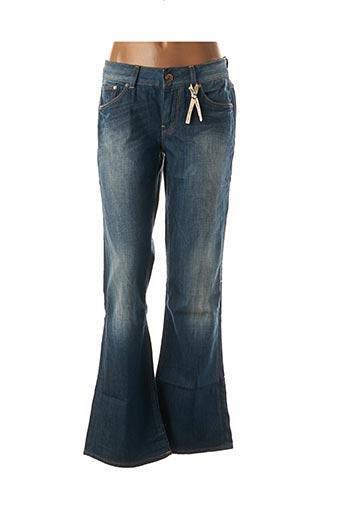 Jeans bootcut bleu FREE SOUL pour femme